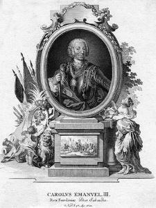 Charles Emmanuel III of Sardinia, Duke of Savoy and King of Sardinia, (1701-177)