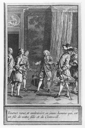 Illustration from 'The Life and Adventures of Mr. Cleveland