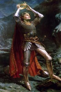 King Arthur, 1903 by Charles Ernest Butler