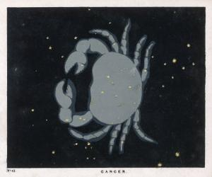 The Constellation of Cancer the Crab by Charles F. Bunt