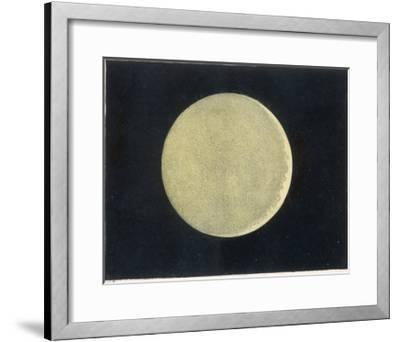 The Crescent Moon, a Close Up
