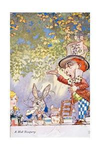 A Mad Teaparty by Charles Folkard