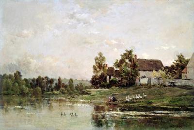 The Banks of the Seine at Portejoie, 1871