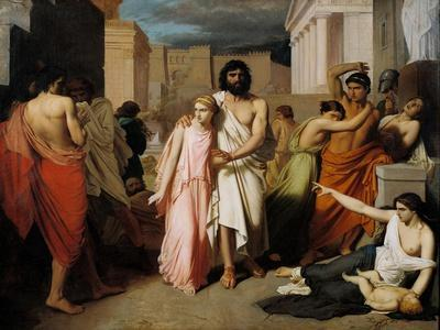 Oedipus and Antigone or the Plague of Thebes