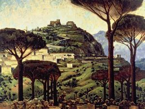 Campobasso, c.1945 by Charles Fraser Comfort