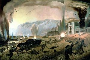 Dieppe Raid by Charles Fraser Comfort