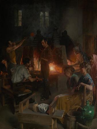 Glass Blowers of Murano, 1886
