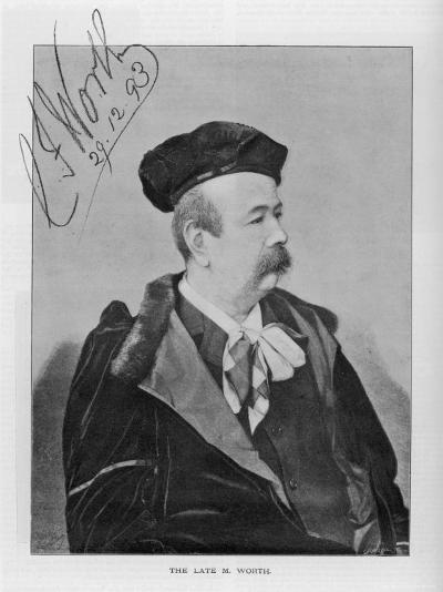 Charles Frederick Worth English Fashion Designer Active in Paris--Photographic Print