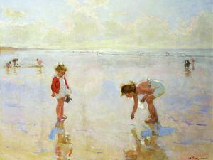Beach Scene by Charles-Garabed Atamian