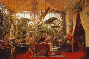 Veranda de la Princesse Mathilde by Charles Giraud