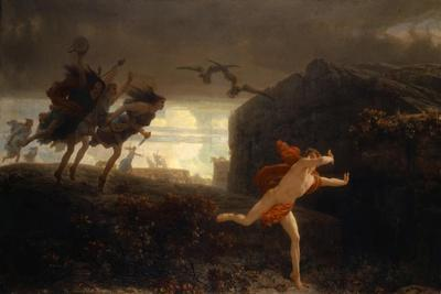 Pentheus Pursued by the Maenads, 1864