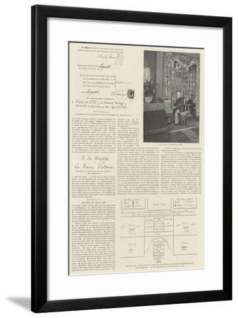 Charles Gounod--Framed Giclee Print