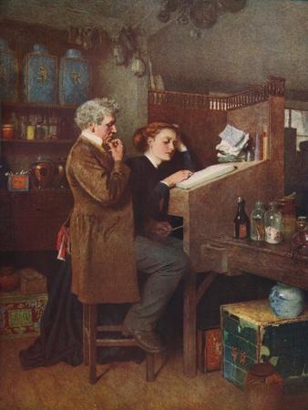 'Something Wrong Somewhere', c1850