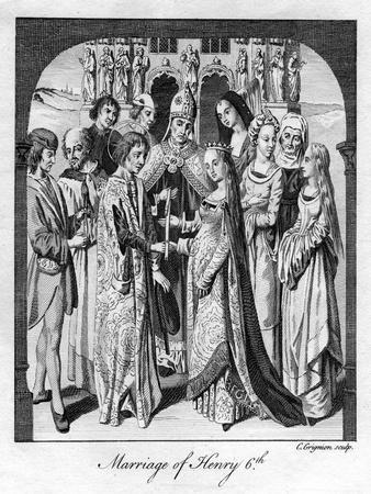Marriage of Henry VI, 1445