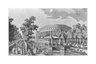 'Ranelagh in 1752, after Canaletti', c1750, (1904)