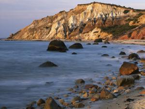 Aquinnah (Gay Head) Cliffs, Martha's Vineyard, Massachusetts, USA by Charles Gurche
