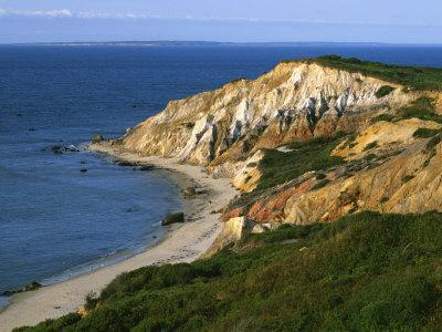 Aquinnah (Gay Head) Cliffs, Martha's Vineyard, Massachusetts, USA