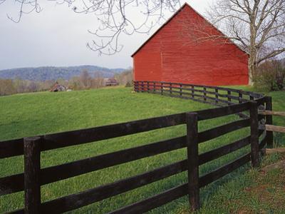 Barn Near Etlan, Virginia, USA by Charles Gurche
