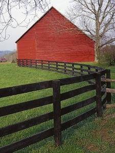 Barn Near Etlan, Virginia, USA by Charles Gurche