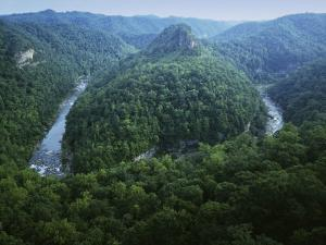 Canyon of the Russel Fork, River Breaks Interstate State Park, Virginia, USA by Charles Gurche