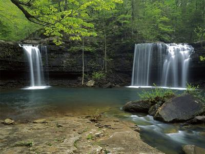 Cascades, Ozark National Forest Arkansas, USA