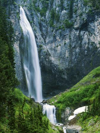 Comet Falls, Mt Rainier National Park, Washington, USA by Charles Gurche