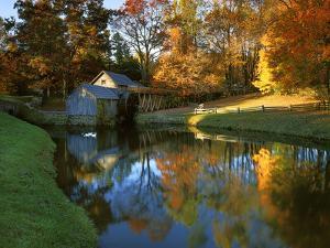 Mabry Mill, Blue Ridge Parkway, Virginia, USA by Charles Gurche