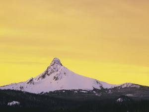 Mt. Washington at sunset, Deschutes National Forest, Oregon, USA by Charles Gurche