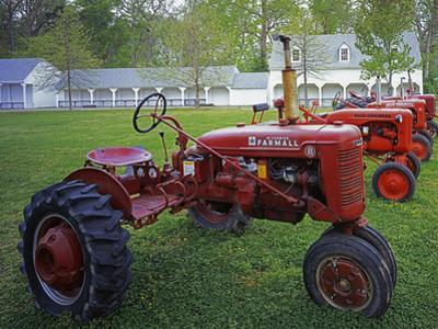 Old Tractors, Chippokes Plantation State Park, Virginia, USA by Charles Gurche