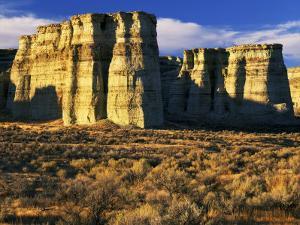 Pillars of Rome, Malheur County, Oregon, USA by Charles Gurche