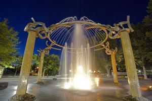 Rotary Fountain, Riverfront Park, Spokane, Washington, USA by Charles Gurche