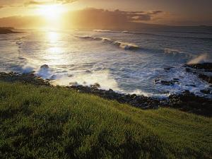 Sunset, Paia, Island of Maui, Hawaii, USA by Charles Gurche