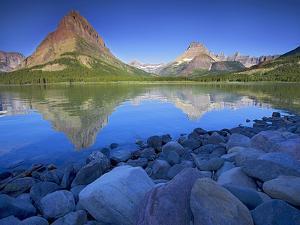 Swiftcurrent Lake, Glacier National Park, Montana, USA by Charles Gurche