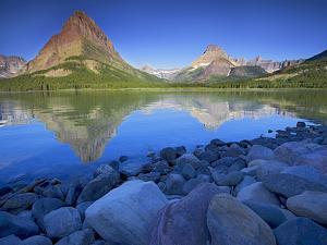 Swiftcurrent Lake, Glacier National Park, Montana, USA by Charles Gurche