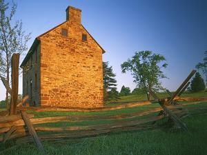 The Stone House, Manassas National Battlefield Park, Virginia, USA by Charles Gurche