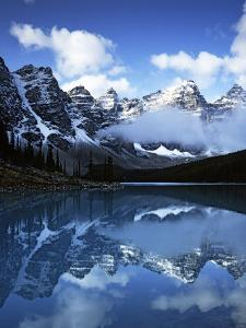 Valley of Ten Peaks, Lake Moraine, Banff National Park, Alberta, Canada by Charles Gurche