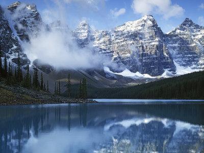 Valley of Ten Peaks, Lake Moraine, Banff National Park, Alberta, Canada