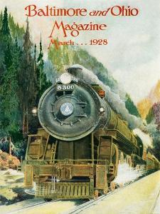 Capitol Limited 1928 by Charles H. Dickson