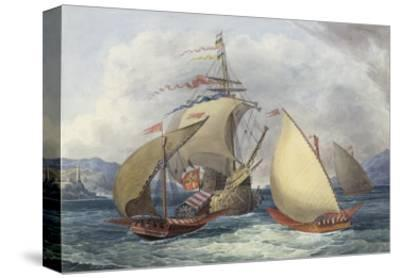 Papal Galleys and Ships of War, c.1850