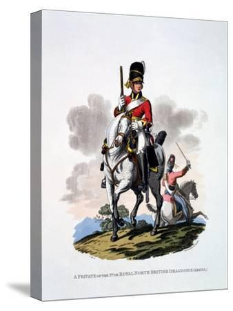 Uniform of a Private of the 2nd or Royal North British Dragoons, 'The Greys', from 'Costume of…