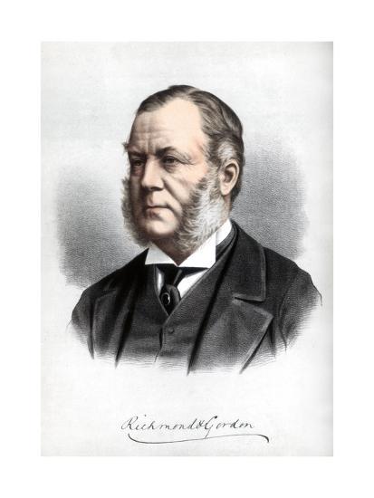 Charles Henry Gordon-Lennox, Duke of Richmond and Gordon, C1890-Petter & Galpin Cassell-Giclee Print