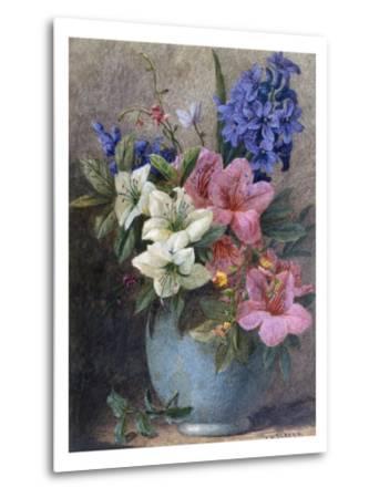 A Vase of Azaleas and Hyacinth