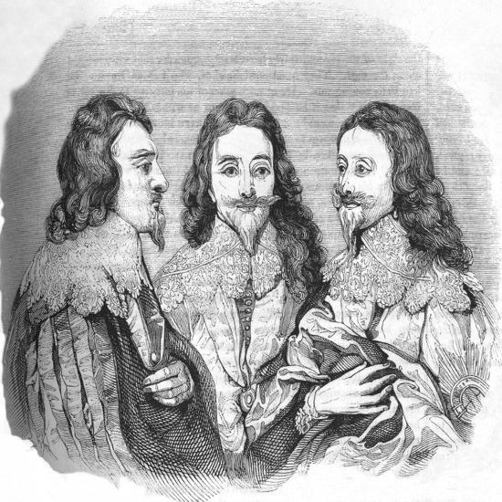 'Charles I', 1845-Unknown-Giclee Print