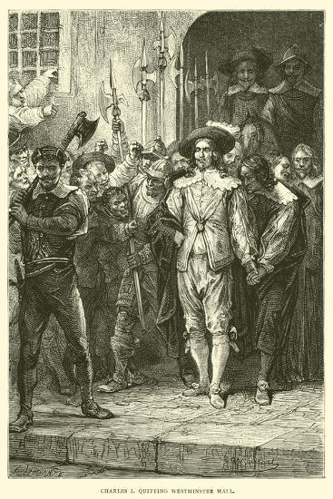 Charles I Quitting Westminster Hall--Giclee Print
