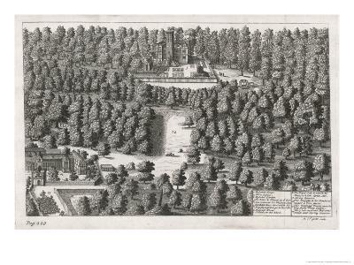Charles II Hides in the Woods at Boscobel-Michael van der Gucht-Giclee Print