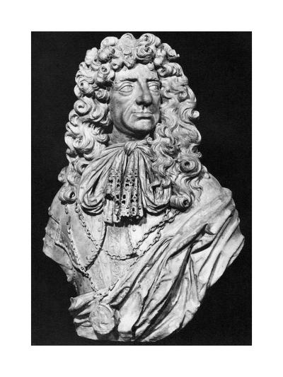 Charles II, King of England, Scotland and Ireland, C1678-John Bushnell-Giclee Print