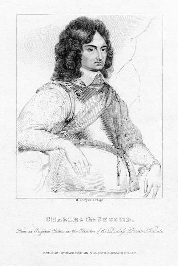 Charles II, King of England, Scotland and Ireland-R Cooper-Giclee Print