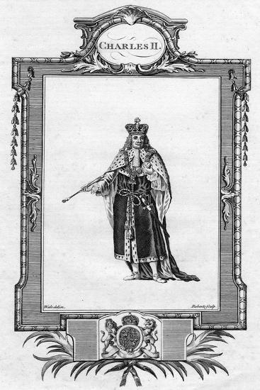 Charles II, King of England, Scotland and Ireland- Waledelin-Giclee Print