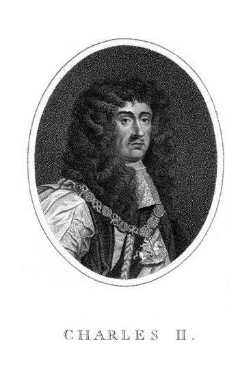 Charles II, King of England, Scotland and Ireland--Giclee Print