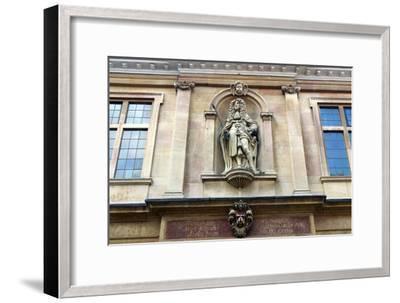 Charles II on Custom House, Kings Lynn, Norfolk-Peter Thompson-Framed Photographic Print